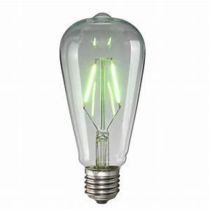 Retro Glühbirne Led : e27 st64 2w vintage edison licht gl hbirne led filament colorful lampe 220v ebay ~ Orissabook.com Haus und Dekorationen