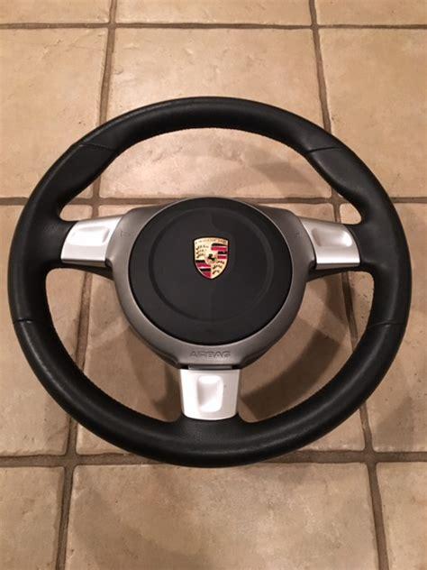 sale porsche    sport steering wheel