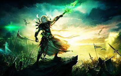 Fantasy Battle Wallpapers Epic War Magic Warrior