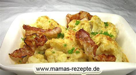 Probiert mal die kombination von käse schinken und blumenkohl. Blumenkohl überbacken | Mamas Rezepte - mit Bild und ...