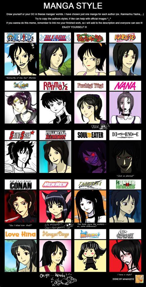 manga anime style meme fun by cartoonlion on deviantart