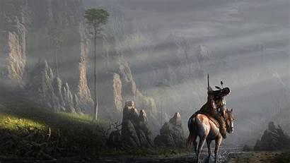 Native American Indian Desktop Nature Americans Warrior