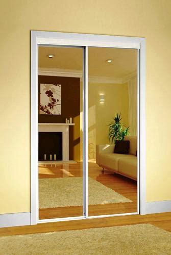 Sliding Door Mirror Closet by Colonial Elegance Classic Mirrored Sliding Door At Menards 174