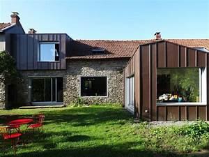 Extension Maison Ancienne : modernit assur e pour cette maison ancienne extensions ~ Louise-bijoux.com Idées de Décoration