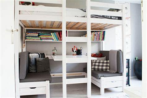 le pour bureau le lit mezzanine et bureau plus d 39 espace archzine fr