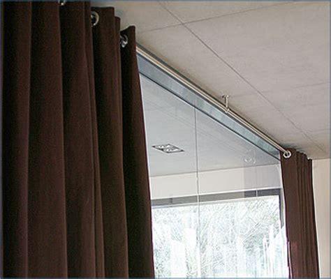 Gardinenstange Für Decke by 1 L 228 Ufige Edelstahl Gardinenstangen F 252 R Montage An Der Decke