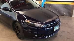 Dodge Dart Vehicle Wrap Carbon Fiber