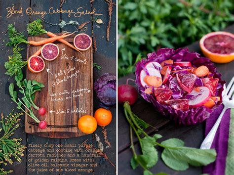 feast forest salad food erin gleeson cabbage blood orange recipe taste recipes simple june colorful fix friday abduzeedo rights moss
