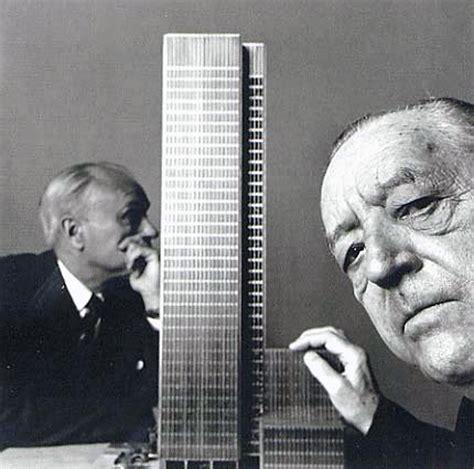 Happy Birthday Mies Van Der Rohe 1886  1969 Designapplause