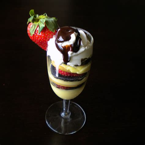 pudding sundae so easy it is hardly a recipe what robin baked today