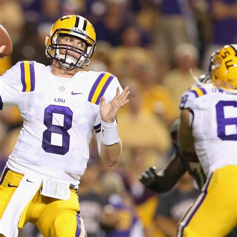 LSU Football: Projecting Tigers' 2013 Offensive Depth ...