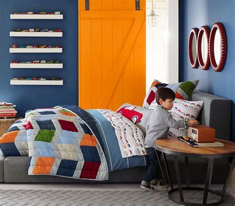 Déco Chambre Orange Et Bleu