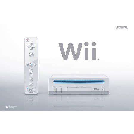 Console Nintendo Wii U by Nintendo Wii Console White Walmart