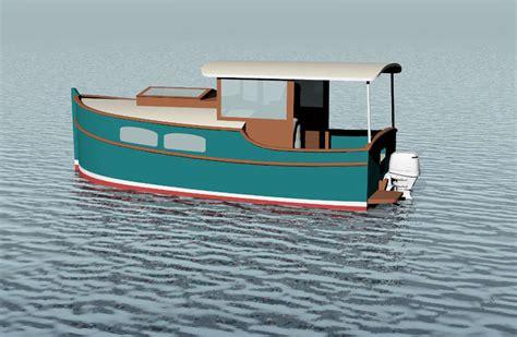 cruising shanty   trailerable outboard shanty boat