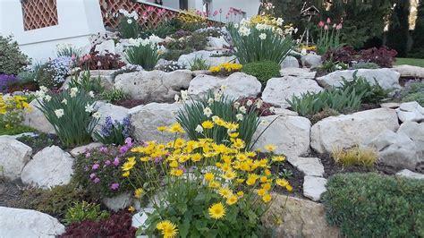 Pflanzen Für Hangbefestigung by Steingarten Im Elsass