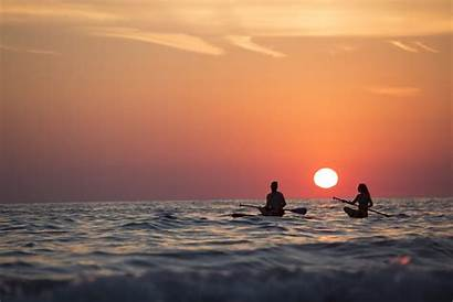 Pexels Sea Woman Boat Rowing Hour Golden