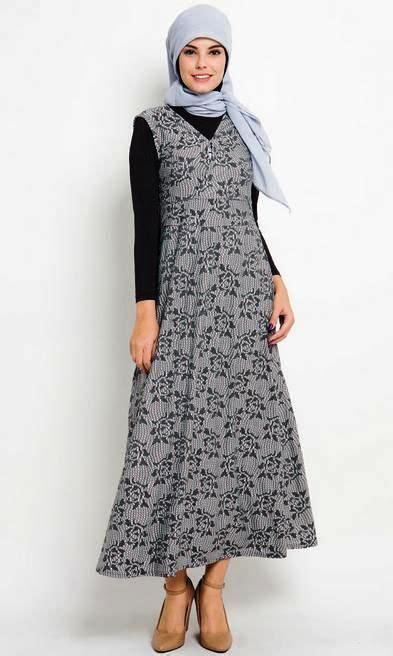 ッ 40 baju batik remaja putri muslim lengan panjang