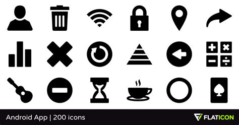 android app  premium icons svg eps psd png files