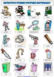 detective stories esl printable worksheets  exercises