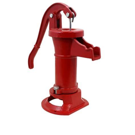 antique hand pump well water pitcher cast iron garden yard ponds decorative ebay