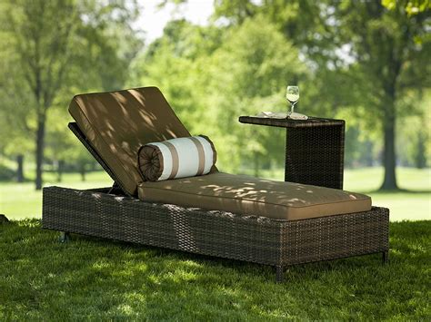 nevis all weather resin wicker chaise lounge 1211