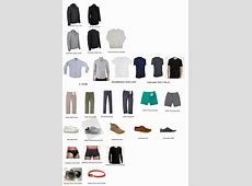 Men's Minimalist Wordrobe Wardrobes, Men's fashion and