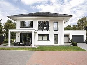 Stadtvilla Mit Garage : stadtvilla mit doppelgarage flachdach ~ Lizthompson.info Haus und Dekorationen