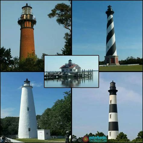Lighthouses on Outer Banks.   Places I have been.   Pinterest