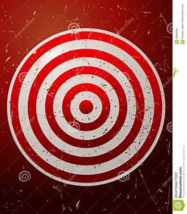 Archery Target Board. stock vector. Illustration of ...
