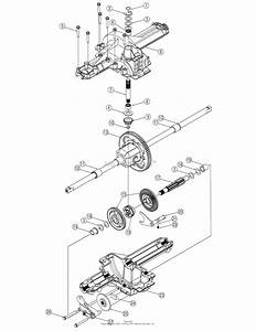 Troy Bilt 13an779g766 Pony  2005  Parts Diagram For Transmission Assembly