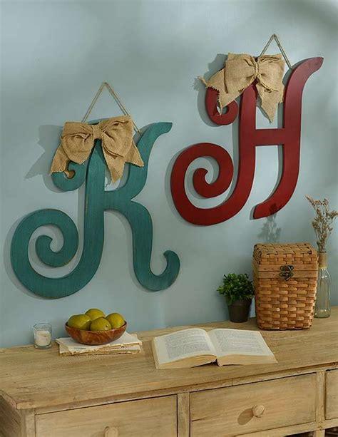 antique monogram plaque  burlap bow  kirklands