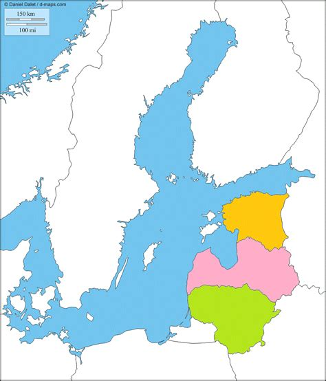 Baltijos šalys: Lietuva, Latvija, Estija