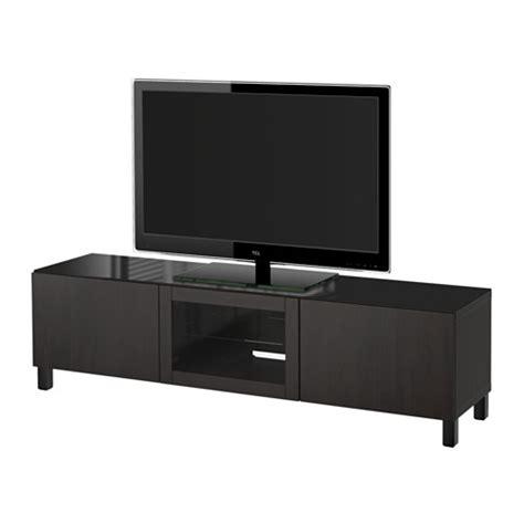 besta tv unit best 197 tv unit with doors lappviken black brown clear glass drawer runner soft closing ikea