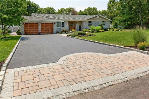 driveways ideas what type of driveway material should i consider long island landscaping long island landscaping