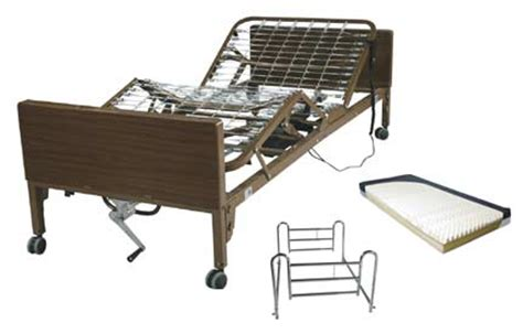 semi electric hospital beds