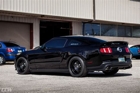 black ford mustang ccw sp forged wheels ccw wheels