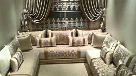 tissus pour canape salon marocain contemporain confortable modèles 2017