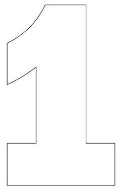number stencils set    printable numbers number