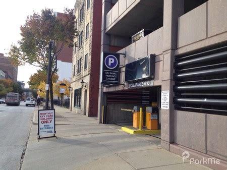 bank parking garage parking  cleveland parkme
