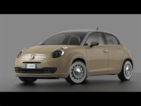 Fiat 600 new concept HD (127) + Abarth - YouTube