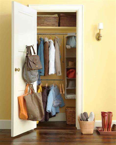 Front Entry Closet Organization Ideas by Entryway Organizing Ideas Martha Stewart