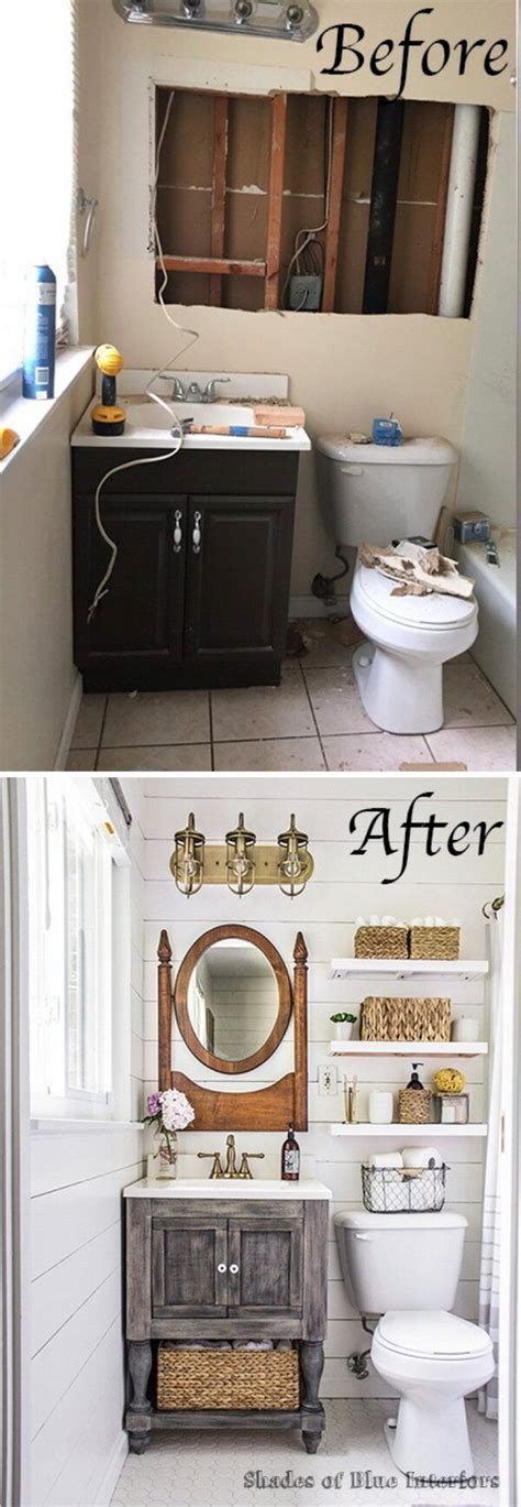 Bathroom Makeover Before And After by Before And After 40 Amazing Bathroom Makeovers Foliver