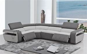 modern sectional sofa recliner With 4085 modern leather sectional sofa with recliner