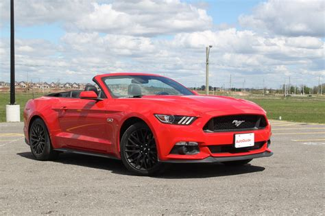 Mustang Gt 2017 by 2017 Ford Mustang Gt Convertible Review Autoguide News