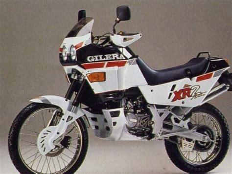 gilera xr2 125 1989 1990 autoevolution