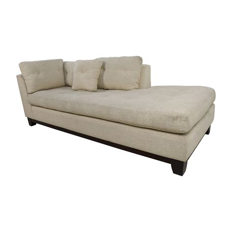 chaise a 79 freestyle freestyle tufted fabric sofa