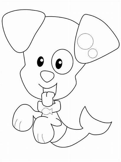 Puppy Coloring Pages Bubble Guppies Colouring Printable