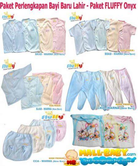 jual paket perlengkapan bayi newborn baju bayi baru lahir fluffy onyx murah di lapak home