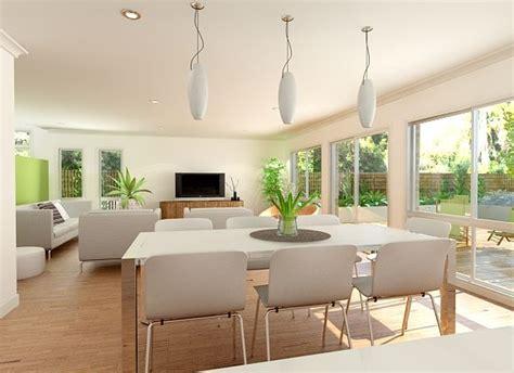 open plan kitchen living room lighting the benefits of open plan living install a veranda 9016