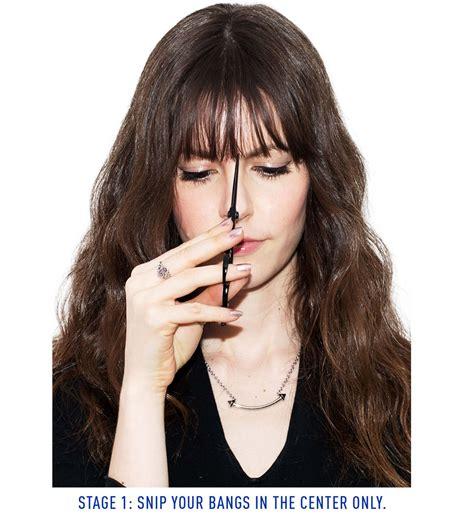 meche femme coiffure frange qui repousse 4 id 233 es pour avoir du style cosmopolitan fr